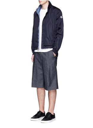 Figure View - Click To Enlarge - Moncler - 'Tristan' reversible hood jacket