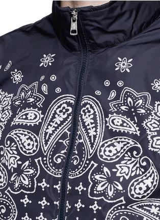 Moncler-'Danny' bandana print windbreaker jacket