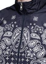 'Danny' bandana print windbreaker jacket