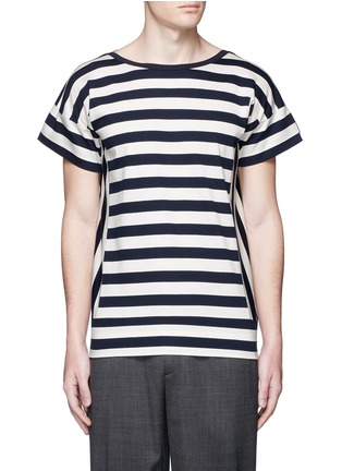 Moncler - Twist marine stripe T-shirt