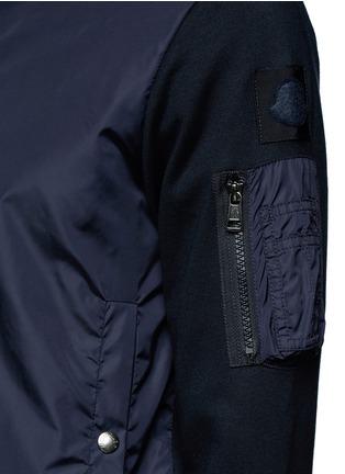 Detail View - Click To Enlarge - Moncler - Windbreaker front zip hoodie