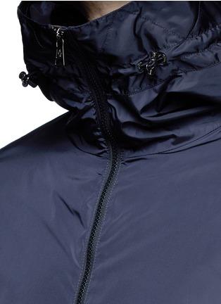 Moncler-Windbreaker front zip hoodie