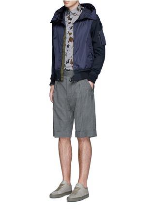 Figure View - Click To Enlarge - Moncler - Windbreaker front zip hoodie