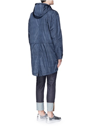Back View - Click To Enlarge - Moncler - 'Jeanpierre' fishtail rain coat