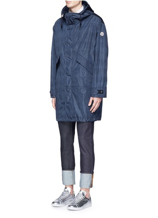 Front View - Click To Enlarge - Moncler - 'Jeanpierre' fishtail rain coat