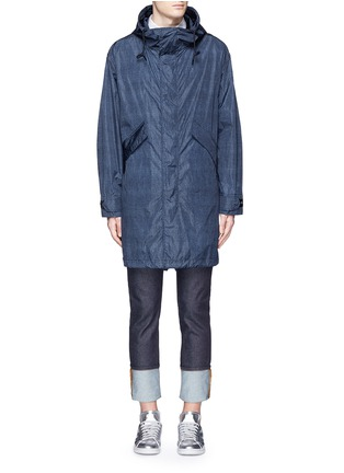 Main View - Click To Enlarge - Moncler - 'Jeanpierre' fishtail rain coat