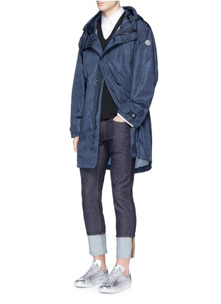 Figure View - Click To Enlarge - Moncler - 'Jeanpierre' fishtail rain coat