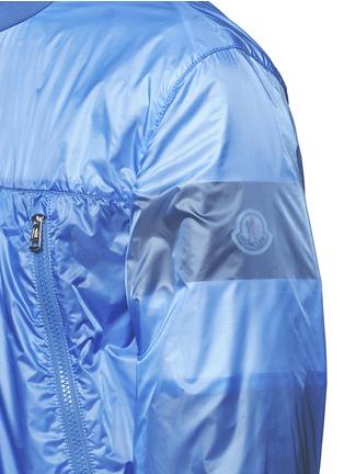 细节 - 点击放大 - MONCLER - FARES条纹图案透视外套