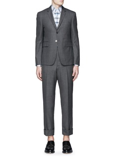 Thom Browne Wool step twill suit