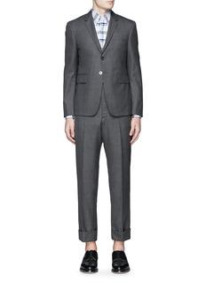 Thom BrowneWool step twill suit