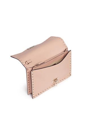 细节 - 点击放大 - VALENTINO - 铆钉装饰牛皮手包