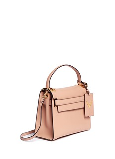VALENTINO'My Rockstud' small top handle leather bag