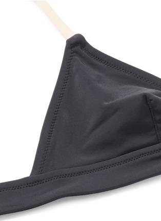 Solid & Striped-'The Morgan' solid triangle bikini top