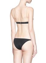 'The Morgan' solid triangle bikini top