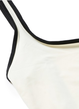 Detail View - Click To Enlarge - Solid & Striped - 'The Anne-Marie' low back swimsuit