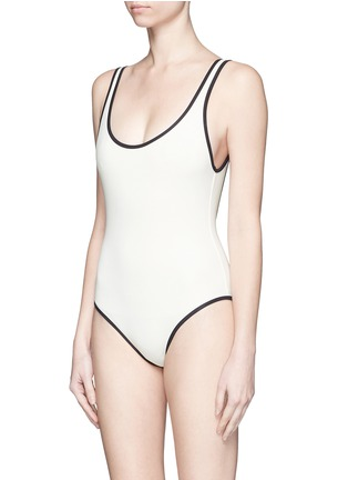 Figure View - Click To Enlarge - Solid & Striped - 'The Anne-Marie' low back swimsuit