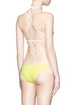 'The Lily' solid bikini tie bottoms