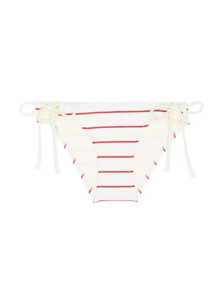 Main View - Click To Enlarge - Solid & Striped - 'The Lilly' stripe bikini tie bottoms