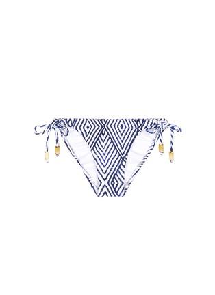 Main View - Click To Enlarge - ViX - 'Razi' long tie bikini bottom