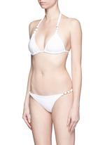 'Paula' bead knot bikini bottom