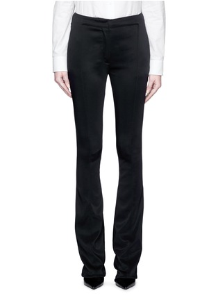Main View - Click To Enlarge - Esteban Cortazar - Tailored slim flare cady pants