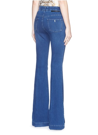 Back View - Click To Enlarge - Stella McCartney - '70's Flare' slim stretch jeans
