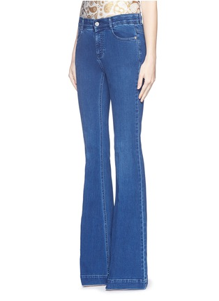 Front View - Click To Enlarge - Stella McCartney - '70's Flare' slim stretch jeans