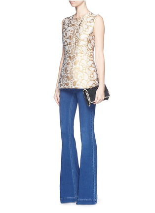 Figure View - Click To Enlarge - Stella McCartney - '70's Flare' slim stretch jeans