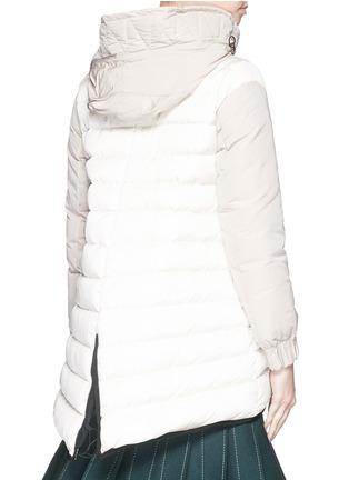 Moncler-'Rozes' detachable hood down jacket