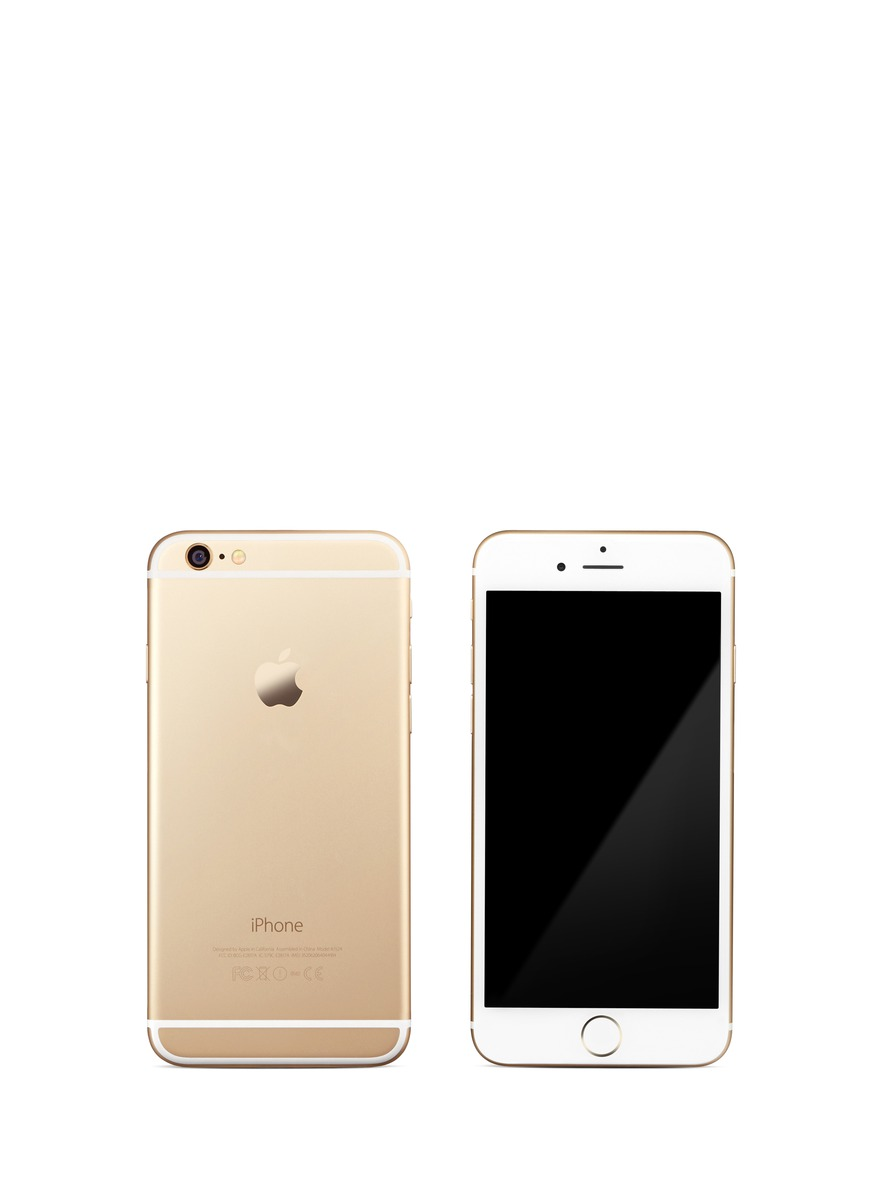 apple iphone 6 64gb gold technology lifestyle home lifestyle lane crawford shop. Black Bedroom Furniture Sets. Home Design Ideas