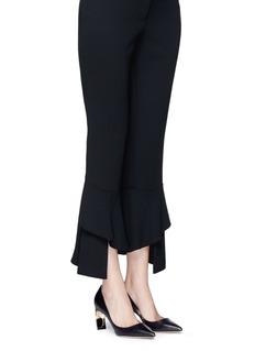 Nicholas Kirkwood 'Maeva' faux pearl heel leather pumps