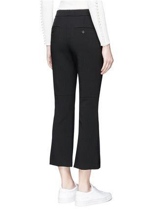 Back View - Click To Enlarge - Theory - 'Erstina' cropped flare pants