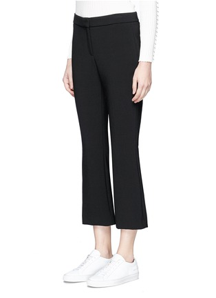 Front View - Click To Enlarge - Theory - 'Erstina' cropped flare pants