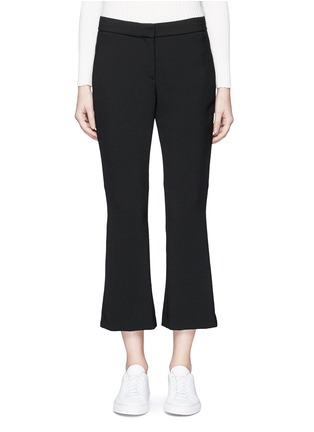 Main View - Click To Enlarge - Theory - 'Erstina' cropped flare pants