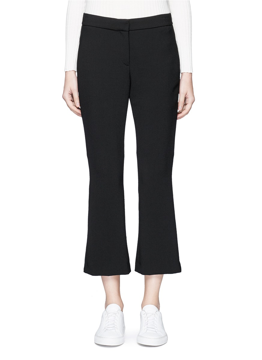 Erstina cropped flare pants by Theory