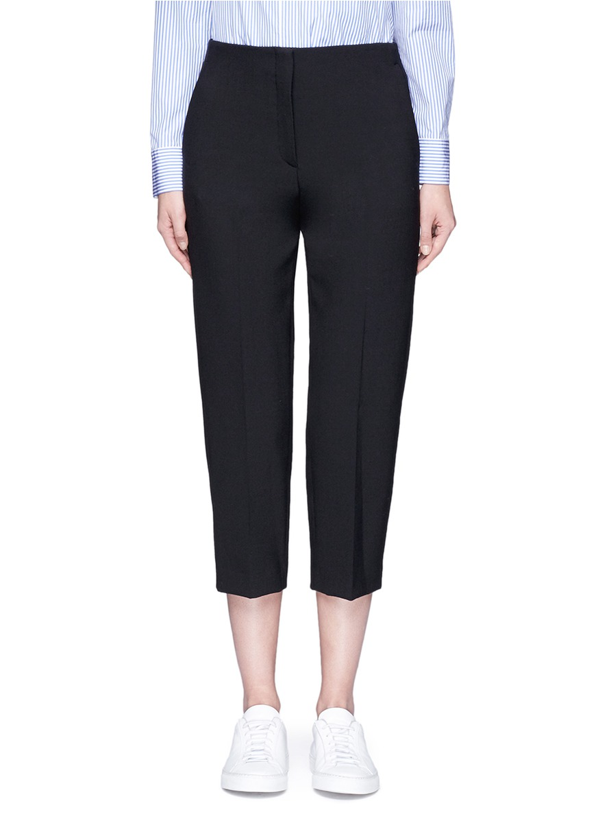 Athewin cropped high waist pants by Theory