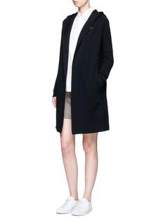 Theory'Edoran' wool-cashmere hooded cardigan