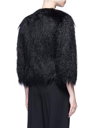 Back View - Click To Enlarge - Theory - 'Elastana 2' faux fur coat