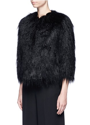 Front View - Click To Enlarge - Theory - 'Elastana 2' faux fur coat