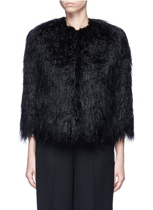 Main View - Click To Enlarge - Theory - 'Elastana 2' faux fur coat