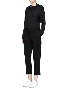 Theory 'Straconi' cropped crepe pants