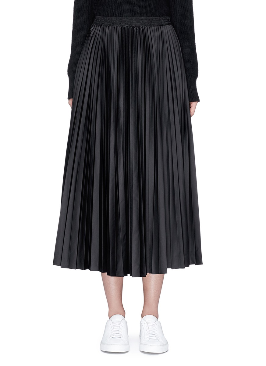 Dorothea pleated skirt by Theory