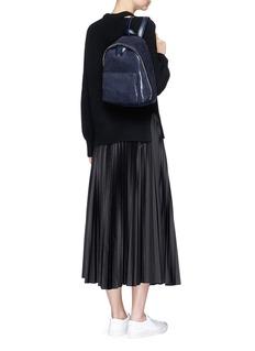 Theory'Dorothea' pleated skirt