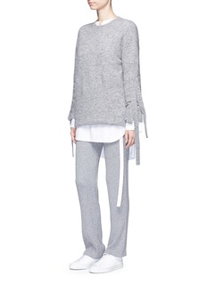 Theory 'Goshun' cashmere blend knit pants