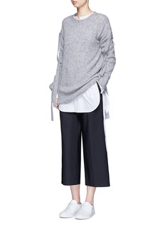 Theory'Maraseille' cotton tunic shirt
