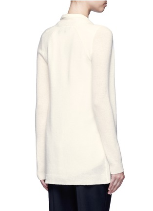 Back View - Click To Enlarge - Theory - 'Ashtry J' open front cashmere cardigan