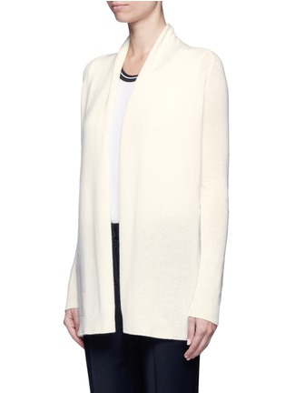 Front View - Click To Enlarge - Theory - 'Ashtry J' open front cashmere cardigan