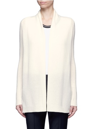 Main View - Click To Enlarge - Theory - 'Ashtry J' open front cashmere cardigan
