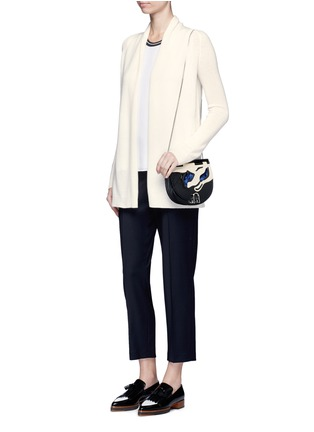 Figure View - Click To Enlarge - Theory - 'Ashtry J' open front cashmere cardigan