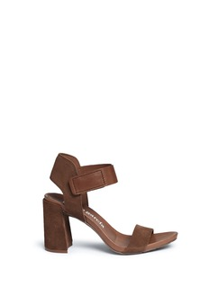 Pedro García 'Yenta' leather and suede sandals